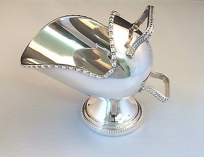Vintage Mappin & Webb Silver Plated Sugar Scuttle