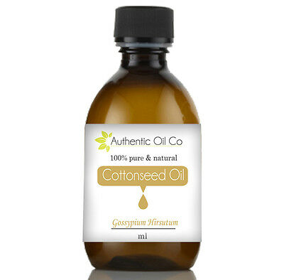 Cottonseed oil ~ Pure ~ Cold Pressed ~