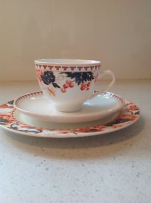 Coalport Cup Saucer And Plate