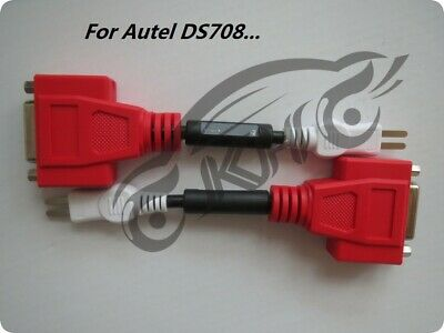For Autel MaxiSYS DS708 Adaptor For Toyota -17 Pin to 15 Pin OBD Connector