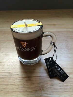 GUINNESS Mini Tankard Candle BNWT