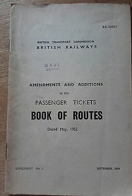 British Railways coaching stock route restrictions