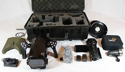 Prosumer Underwater Video Rig. L&M Bluefin HF G10, WA90 Lens, Camera and Light