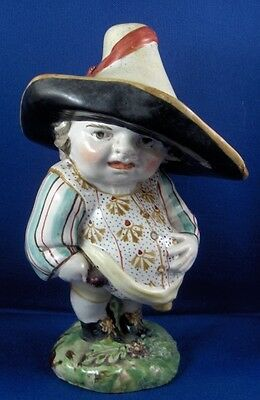 Antique Staffordshire Pearlware Grotesque Dwarf Figurine Figure English England