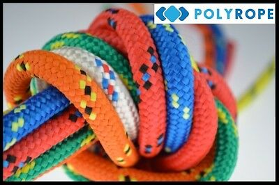 8mm,12mm,16mm Poly Rope Braided Polypropylene Cord Yacht Boat Sailing Camping