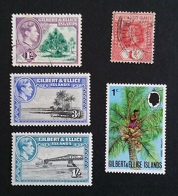 Gilbert & Ellice Islands mint & used stamps