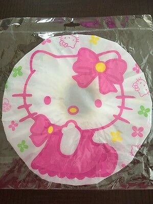NEW Hello Kitty Kids Shower Cap for keeping hair dry during shower