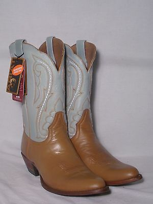 New Ariat Scottsdale Tan Western Boots With Leather Soles Women's 7B