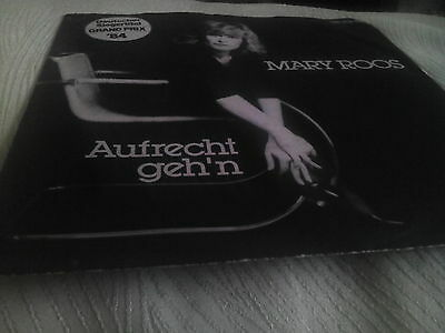 """MARY ROOS """" AUFRECHT GEH'N """" 7"""" SINGLE EUROVISION 1984 Free UK Postage."""