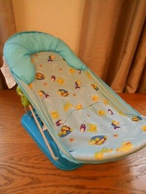 summer infant deluxe folding baby bath support in vgc