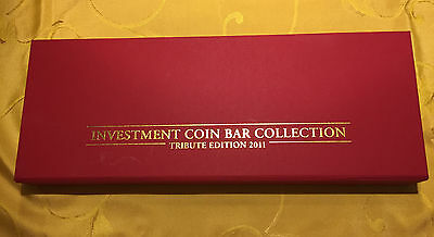 Investment Coin Bar Collection - Tribute Edition - Europa 2011