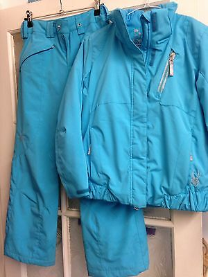 Spyder Girls Ski Suit Age 10 Jacket & Trousers