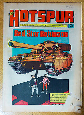 The Hotspur (UK Comic) - Issue #747 (9th February 1974)