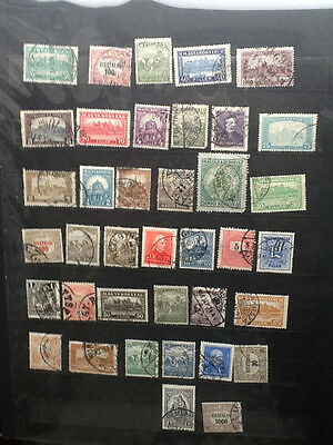Hungary Nice Selection of Old Used stamps VG Lot 4429