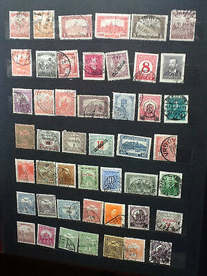 Hungary Nice Selection of Old Used stamps VG Lot 4430