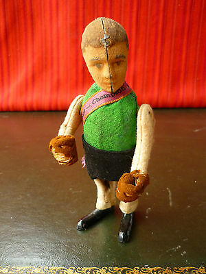 Extremely Rare 1930 SCHUCO 942 Tin Wind-up Max Schmeling Boxer Champion