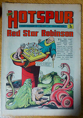 The Hotspur (UK Comic) - Issue #752 (16th March 1974)