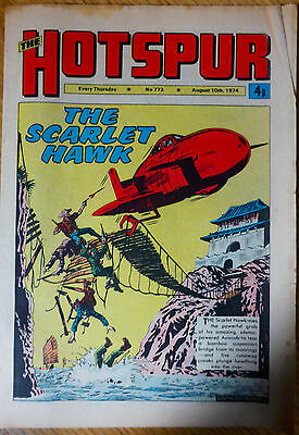 The Hotspur (UK Comic) - Issue #773 (10th August 1974)