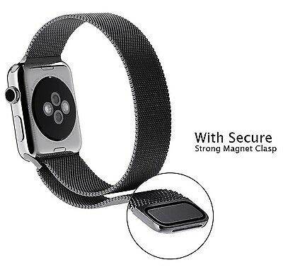 GEOTEL 42mm Milanese Loop Stainless Steel Bracelet Strap Band for Apple Watch...