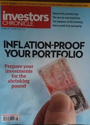 Inflation-Proof Your Portfolio, Investors Chronicle, 24 Feb - 2 Mar, 2017