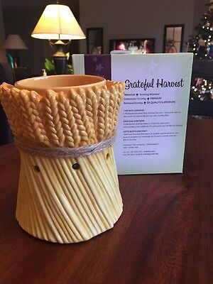 Scentsy Grateful Harvest Full Size Premium Collection 2010 Warmer Brand New!