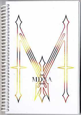 Madonna - MDNA Tour 2012 Crew only Itinerary Book Canada / USA Spiral Bound