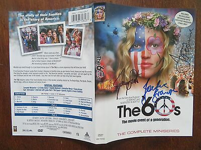 Signed Autographed DVD Cover The 60's - Jordana Brewster, Jerry O'Connell, Sisto