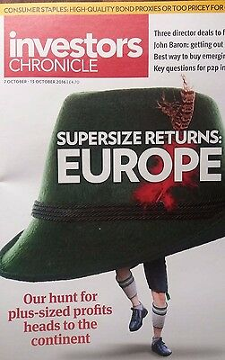 Supersize Returns: EUROPE, Investors Chronicle, 7 - 13 October, 2016