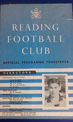 Reading FC Home Programmes