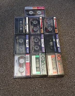 Cassette Tapes Used