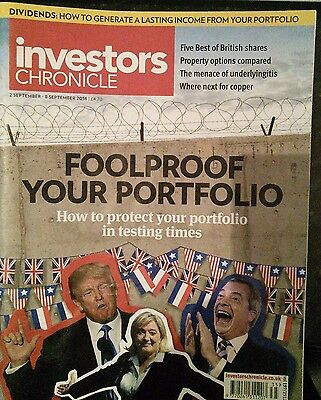 Foolproof Your Portfolio, Investors Chronicle, 2 - 8 September 2016