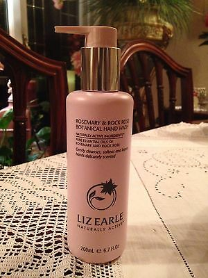Liz Earle Rosemary And Rock Rose Botanical Hand Wash 250ml NEW