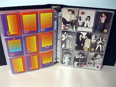Elvis Presley Collection Trading Cards Lot Of 333 In Binder