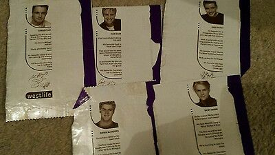 westlife sweet wrappers