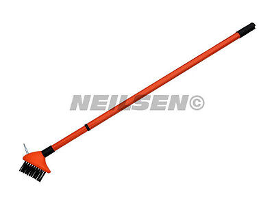Patio Wire Brush Extending Telescopic Garden Pavement Cleaner Weed Moss CT3344