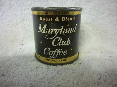 MARYLAND CLUB COFFEE CAN - COCA- COLA - 1.55 oz. - SAMPLE CAN - UNOPENED -