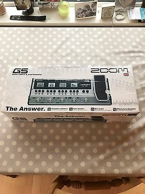 Zoom G5 Guitar Effects Amp Simulator