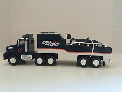 Clark Toy Race Car Transporter - On The Go - Limited Edition #2