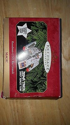 Hallmark Keepsake Ornament 1999 Star Trek Deep Space Runabout - USS Rio Grande