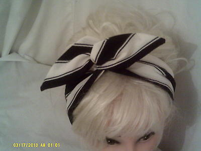 Great    fabric Find Wide  !!! Wire Headband
