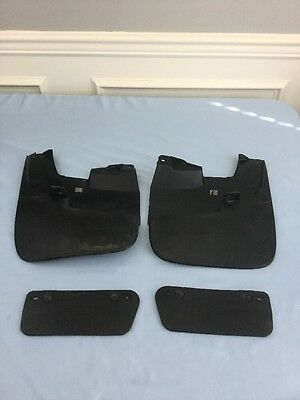 2007-2013 Toyota Tundra Factory OEM Mud Flaps Front & Rear Right & Left
