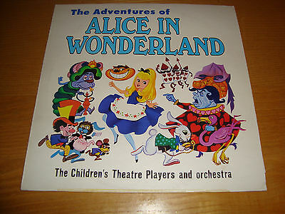 The Adventures of ALICE IN WONDERLAND - LP Happy House Records USA *NrMINT