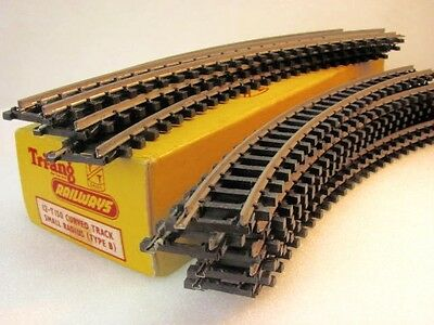 Triang  TT  T 150 curved track type B x 12  boxed.