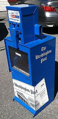 Newspaper- Machine-Used-Good Condition-Washington Post Vending Machine