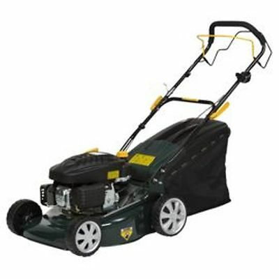 NEW BOXED  Self-Propelled 135cc Petrol Rotary Lawn Mower OUR SALE ITEM