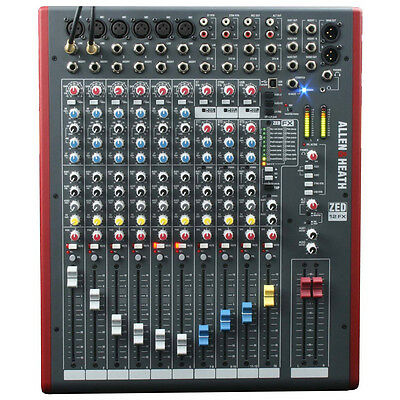 Allen & Heath ZED-12FX - 12 Channel USB Mixing Desk With FX - New & Sealed