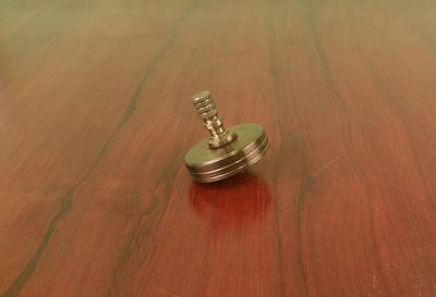 Miniature Spinning Top Made Of Bronze And Brass 2