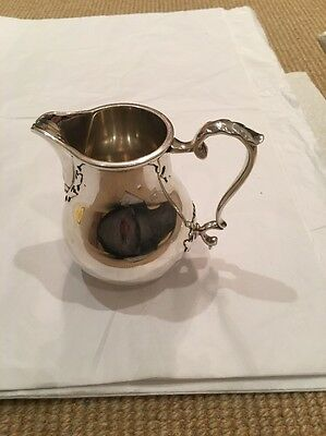 *** Antique Solid Silver Jug Dated 1965***