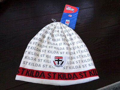 St. Kilda Saints Official Afl Hat Toque New With Tags