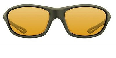 Korda Wraps Sonnenbrille 4 th Dimension (Gloss Olive, Gelb)